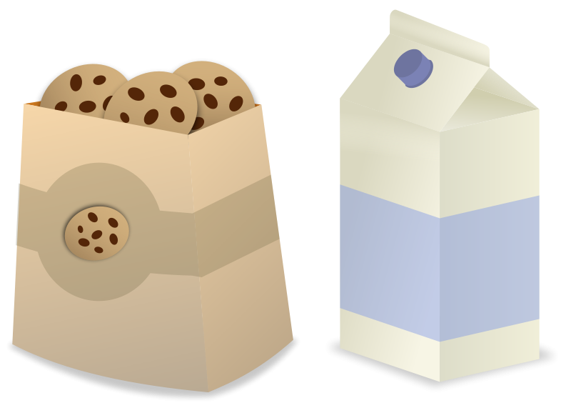 Are You Looking For A Milk And Cookies Clip Art For Use On Your