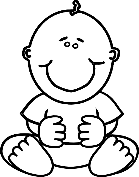 Baby Boy Clip Art At Clker Com   Vector Clip Art Online Royalty Free
