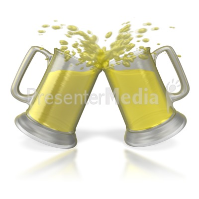 Beer Cheers Toast   Holiday Seasonal Events   Great Clipart For