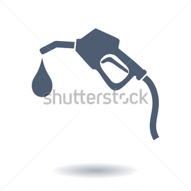 Clip Art   Gasoline Pump Nozzle Sign Gas Station Icon  Flat Design