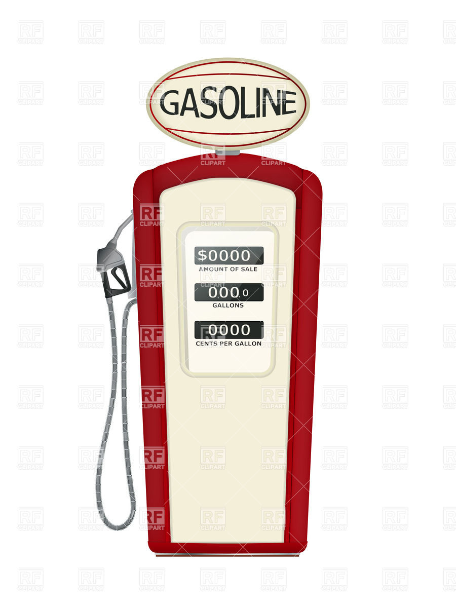 Fuel Pump 28175 Transportation Download Royalty Free Vector Clip