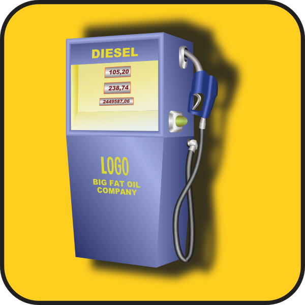 Gas Pump Clip Art At Clker Com   Vector Clip Art Online Royalty Free