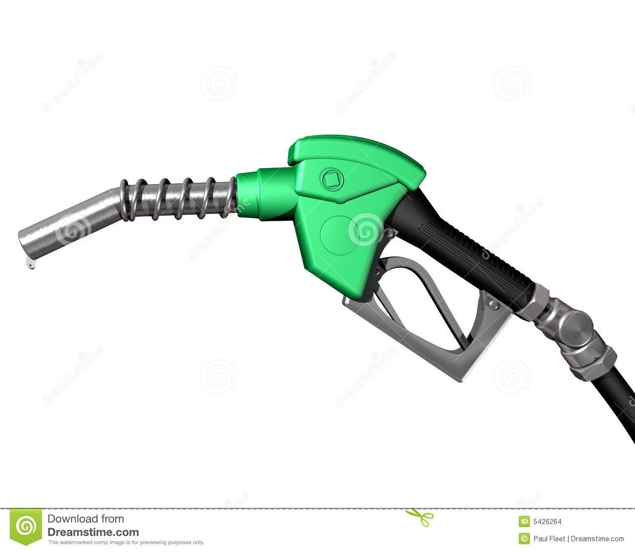 Gas Pump Nozzle Stock Images   Image  5426264