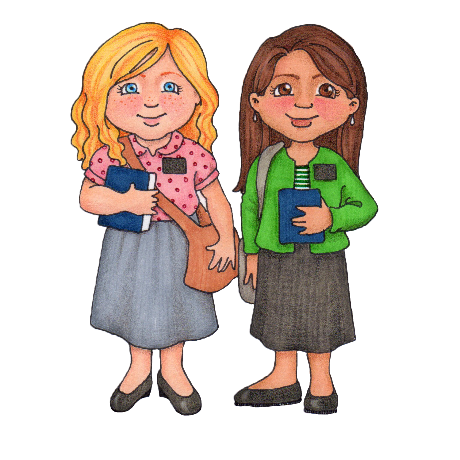 Lds Sister Missionary Clipart - Clipart Kid