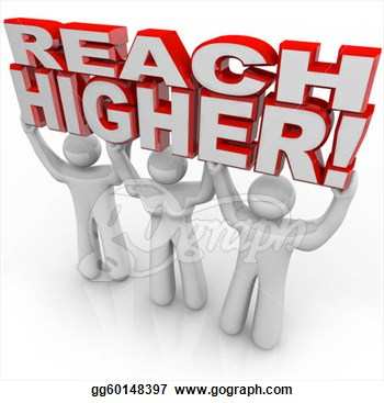 Lifting Words Achieve Goal  Clipart Illustrations Gg60148397   Gograph