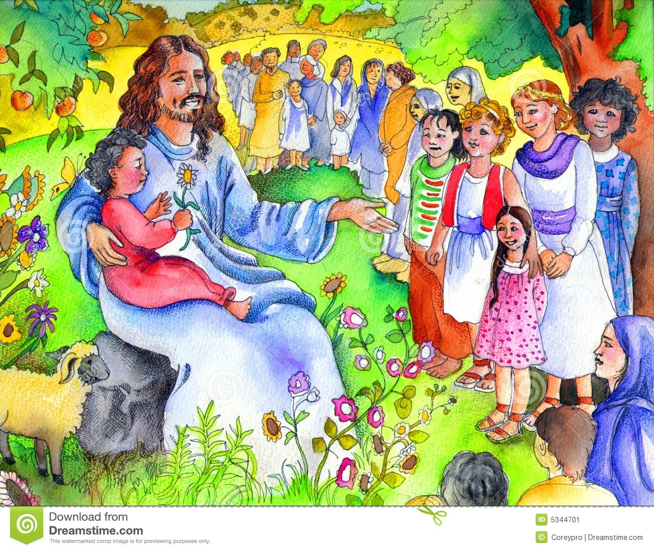 Regarding Following Jesus Biblical Clipart - Clipart Kid