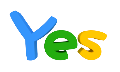 yes symbol clip art - photo #32