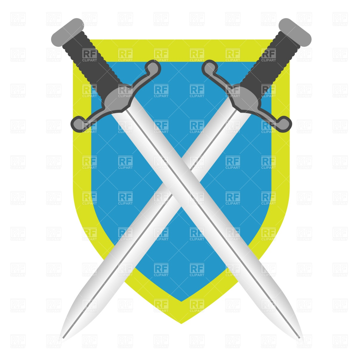 Back   Gallery For   Sword And Shield Clip Art