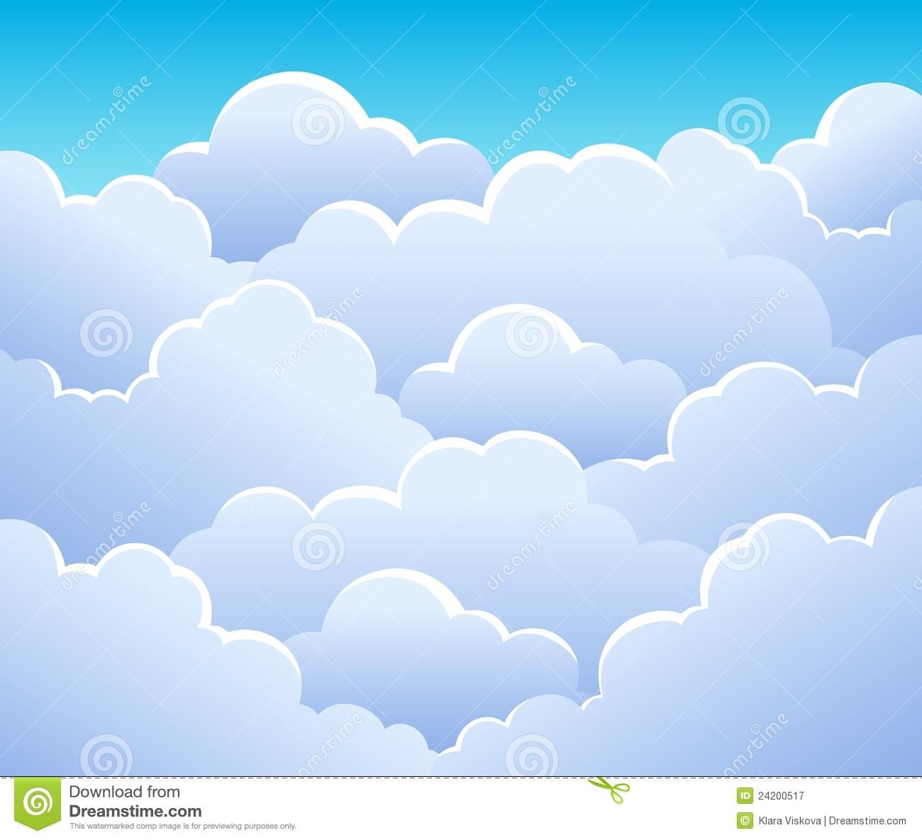 cloud clipart background - photo #40