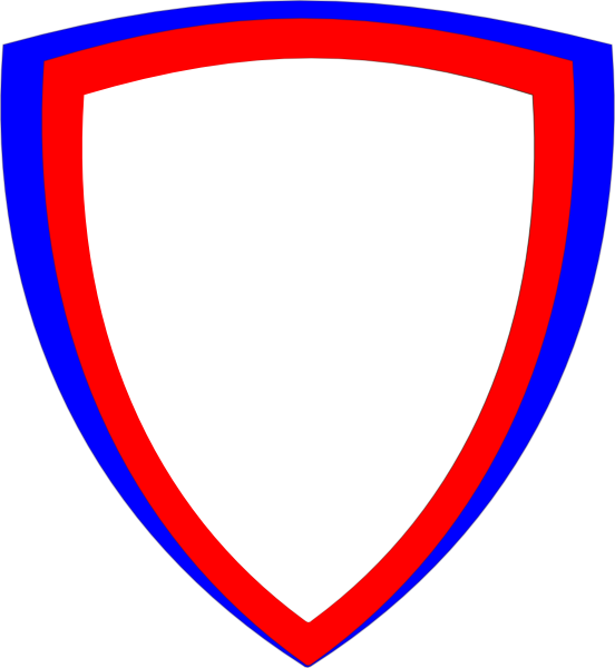 Double Shield Clip Art