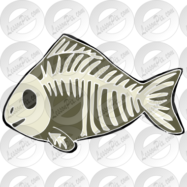 Fish Stencil For Classroom   Therapy Use   Great X Ray Fish Clipart
