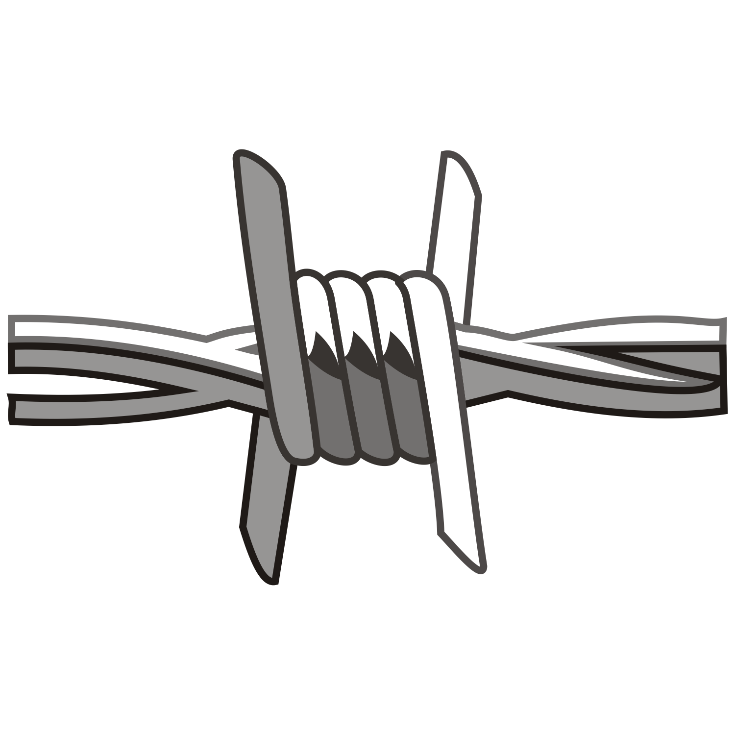 Free Barbed Wire Clip Art   Clipart Best
