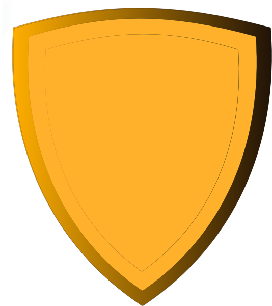 Gold Shield Clip Art At Clker Com   Vector Clip Art Online Royalty