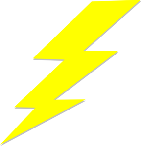 Zeus Lightning Bolt Clipart - Clipart Kid