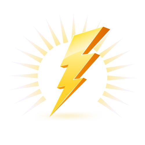Zeus Lightning Bolt Clipart - Clipart Kid