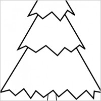 Pine Tree Clip Art Black And White   Clipart Best
