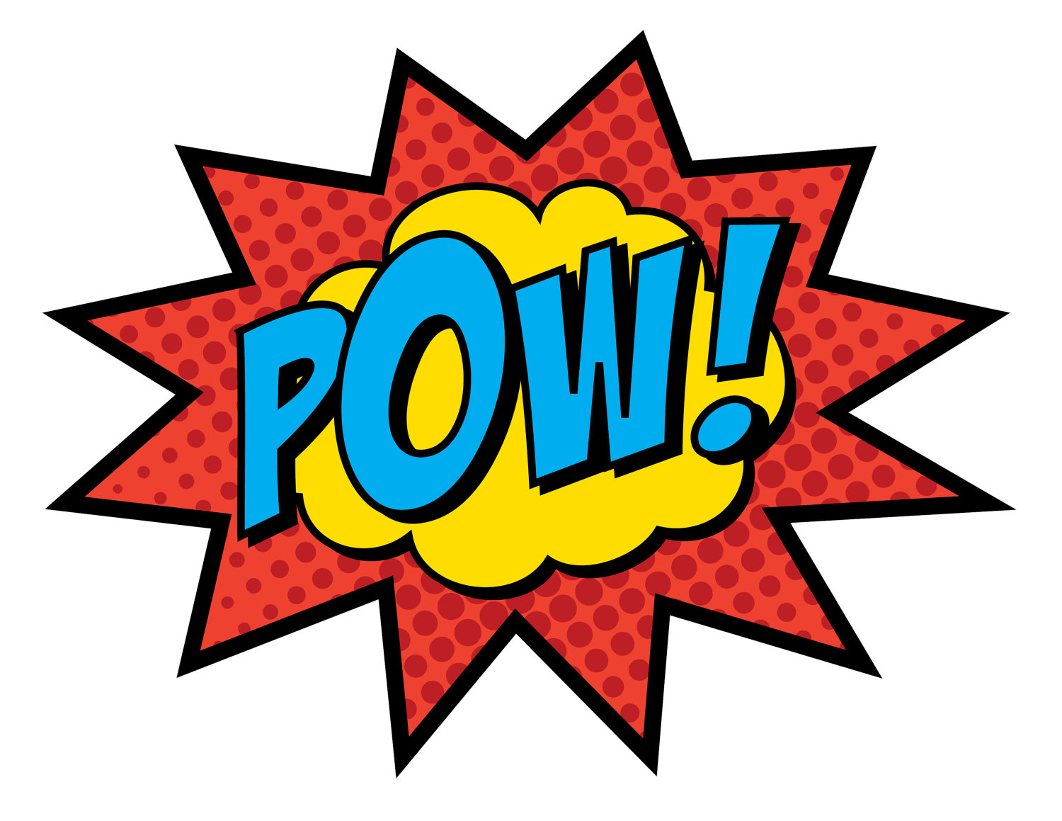 Pow Clipart Words Of The Week