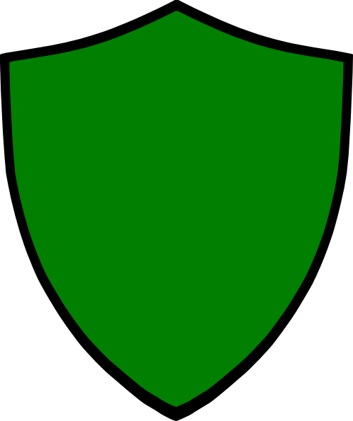 Shield Green Clip Art At Clker Com   Vector Clip Art Online Royalty