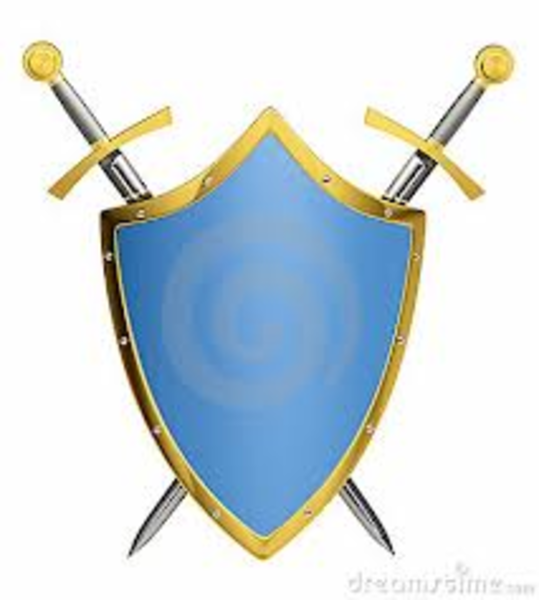 Shields And Swords   Free Images At Clker Com   Vector Clip Art Online