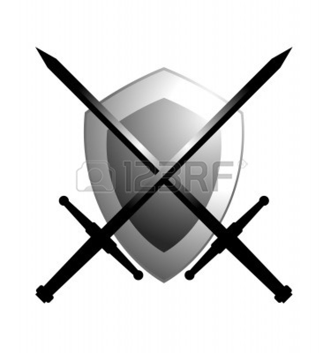 Sword And Shield Clipart   Clipart Panda   Free Clipart Images