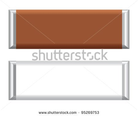 blank chocolate bar wrappers - photo #40