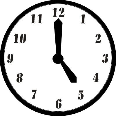 Free Clock 8 00 Clipart - Clipart Kid