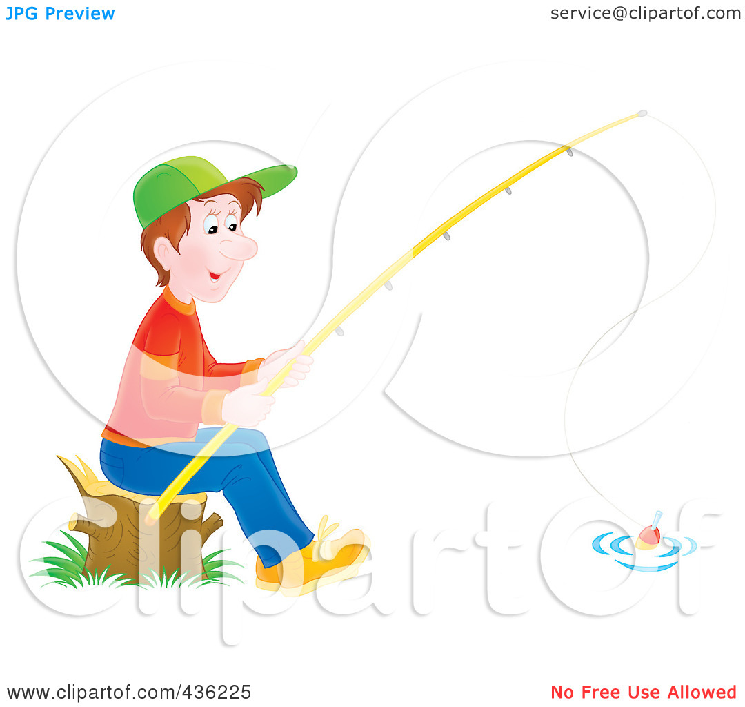 Boy Fishing Clipart   Clipart Panda   Free Clipart Images