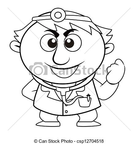 Doctor Clip Art Black And White   Clipart Panda   Free Clipart Images