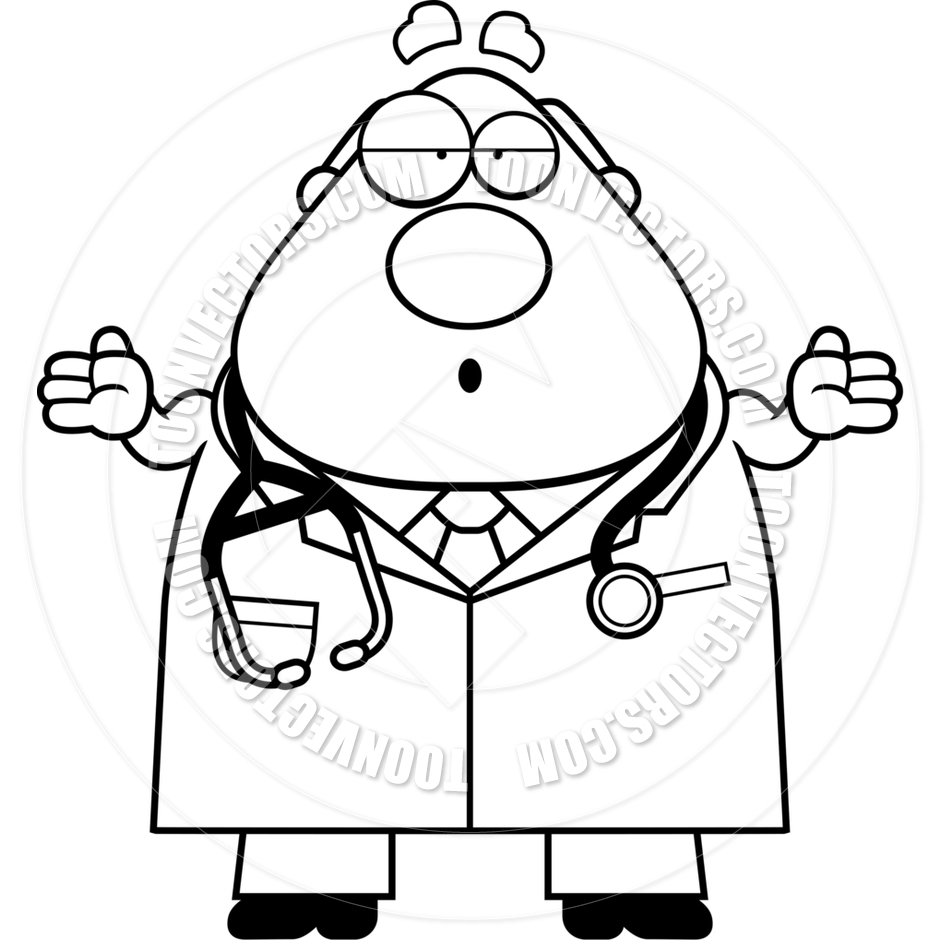 Doctor Clipart Black And White   Clipart Panda   Free Clipart Images