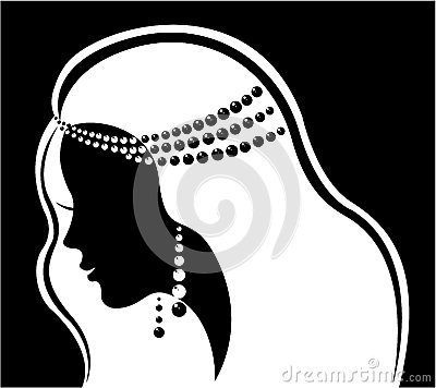 Jewelry Silhouette Clipart - Clipart Kid