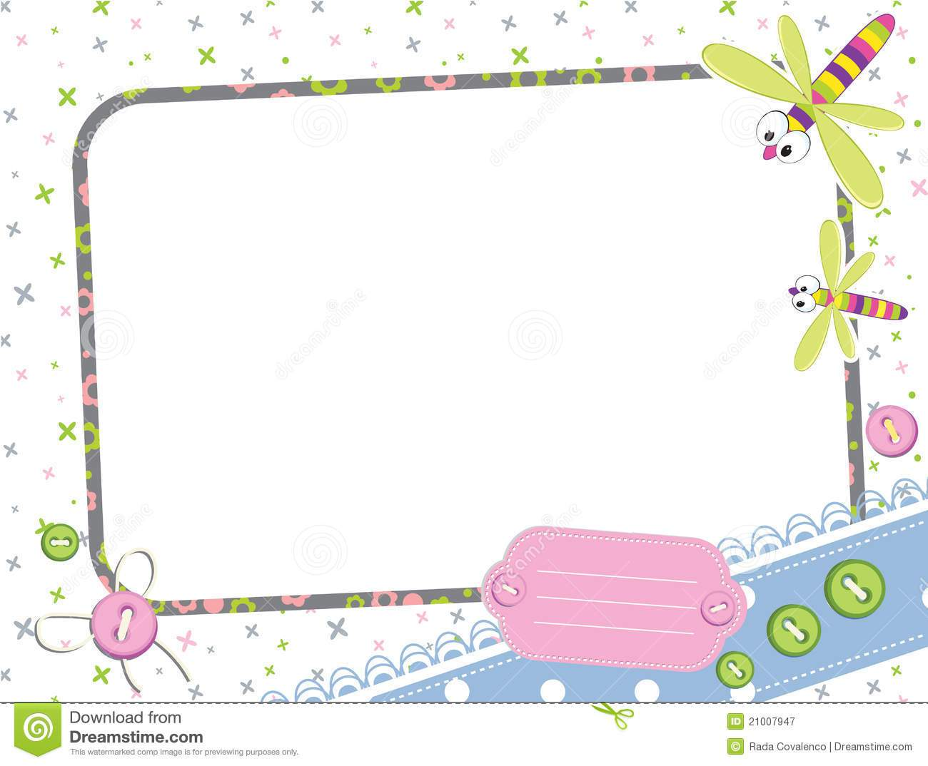 free baby frame templates girl baby shower invitation ideas girl baby