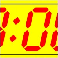 Free Vector Vector Clip Art Digital Clock 11 30 Clip Art