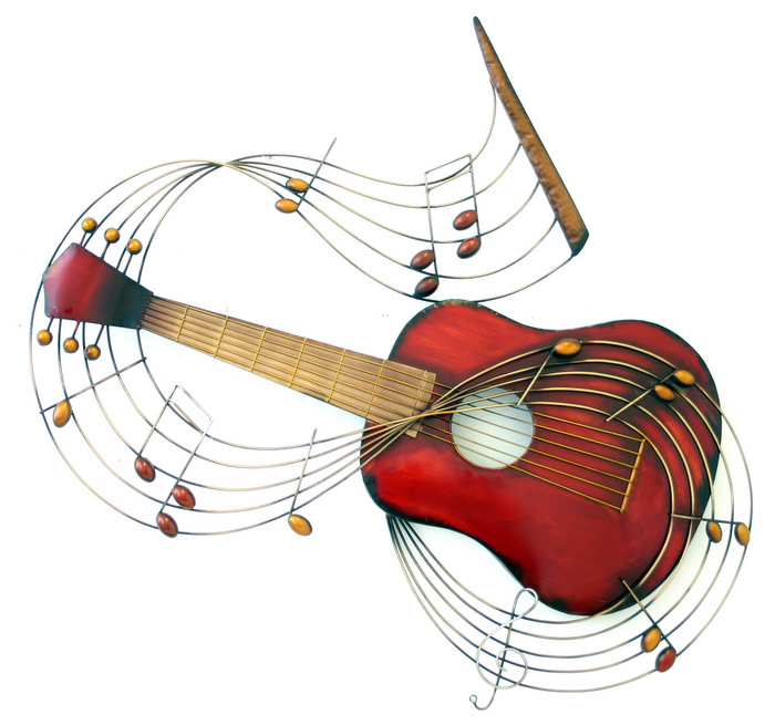 Guitar Notes Clipart - Clipart Kid