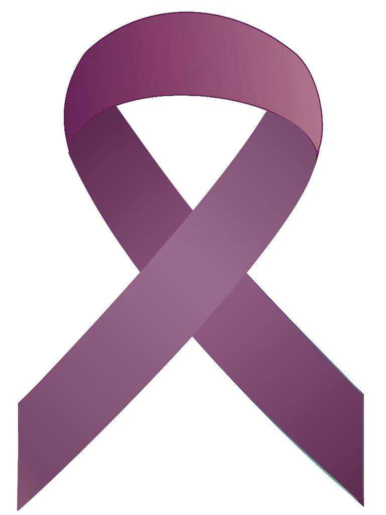 purple ribbon clipart clipart suggest