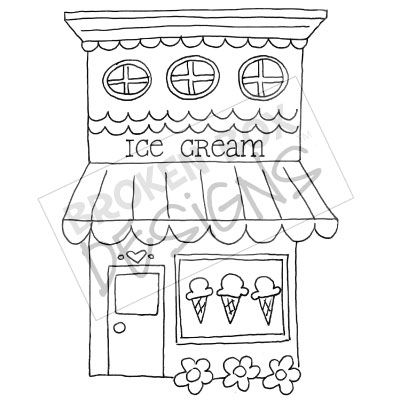 Ice Cream Shop Clipart Clipart