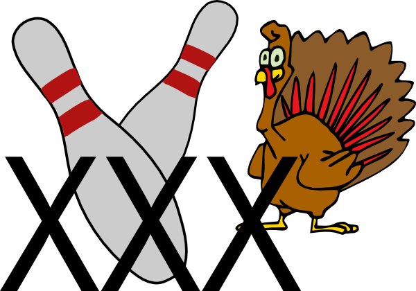 Bowling Turkey Clip Art At Clker Com   Vector Clip Art Online Royalty