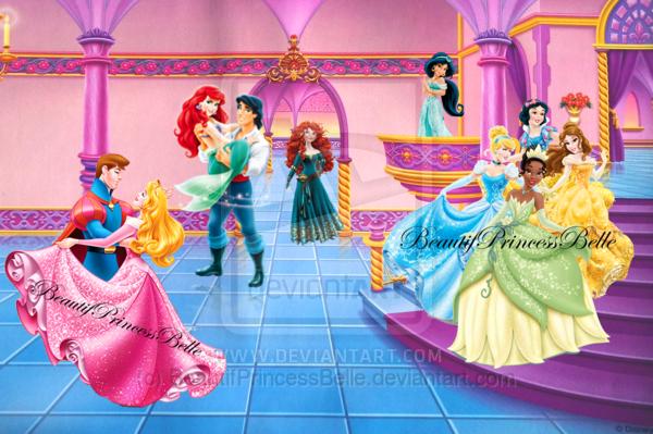 free disney princess castle clipart - photo #44