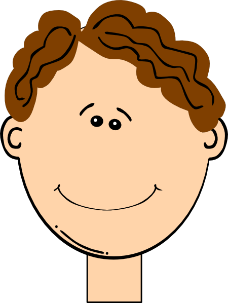 clip art curly hair girl - photo #49