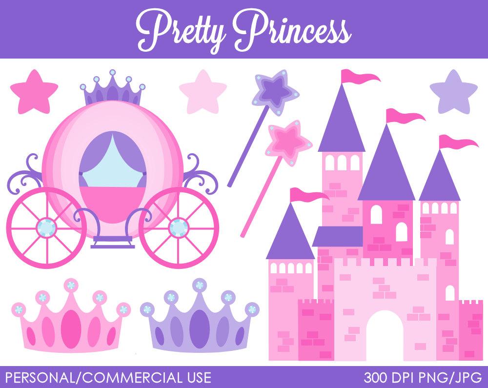 free disney princess castle clipart - photo #49
