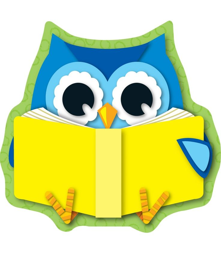 Reading Owls Cutouts   Owls   Pinterest