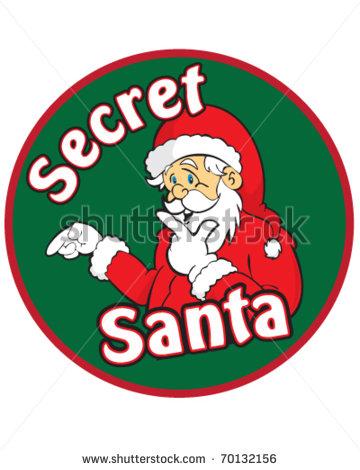 Clip Art Secret Santa Clip Art secret santa clip art clipart kid vector 70132156 shutterstock clipart