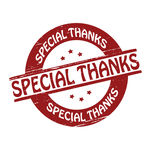 Special Thanks   Stamp With Text Special Thanks