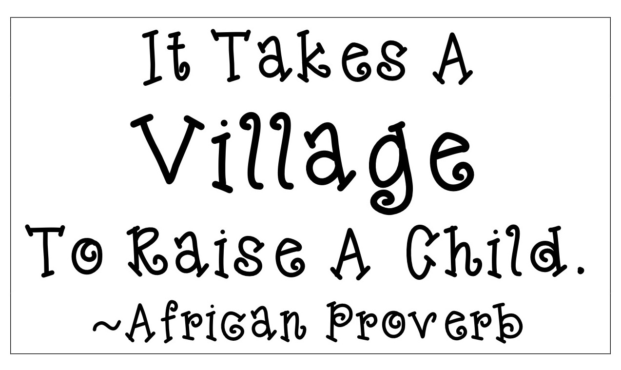 it takes a village clipart clipart kid the corner on character it takes a village