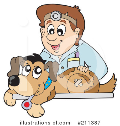 Veterinarian Clipart  211387 By Visekart   Royalty Free  Rf  Stock
