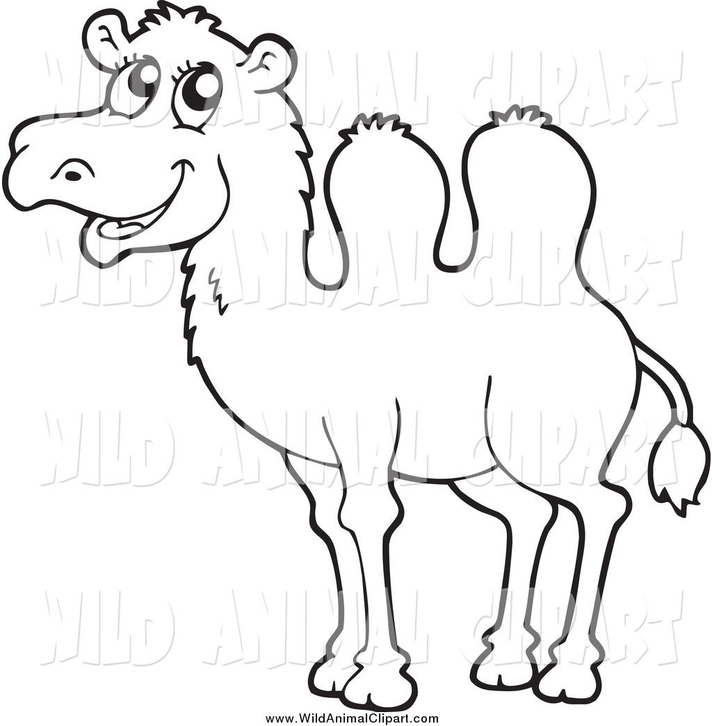 Happy Camel Clipart - Clipart Kid