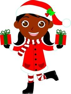 Black Santa Clipart - Clipart Kid