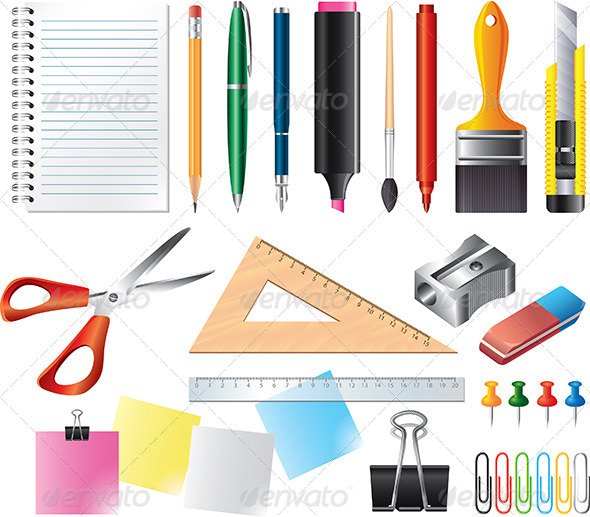 Office Tools Clipart - Clipart Kid
