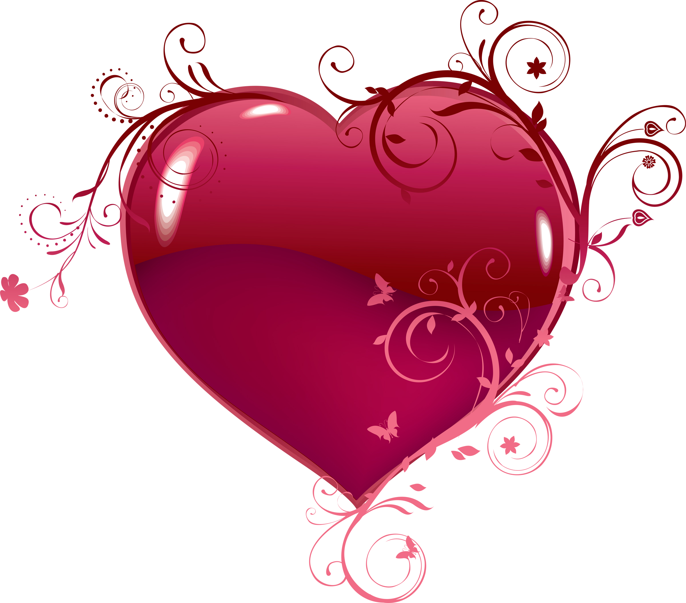 Fancy Heart Clipart - Clipart Suggest