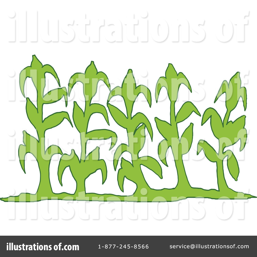 Rf  Corn Clipart Illustration By Lafftoon   Stock Sample  1165798
