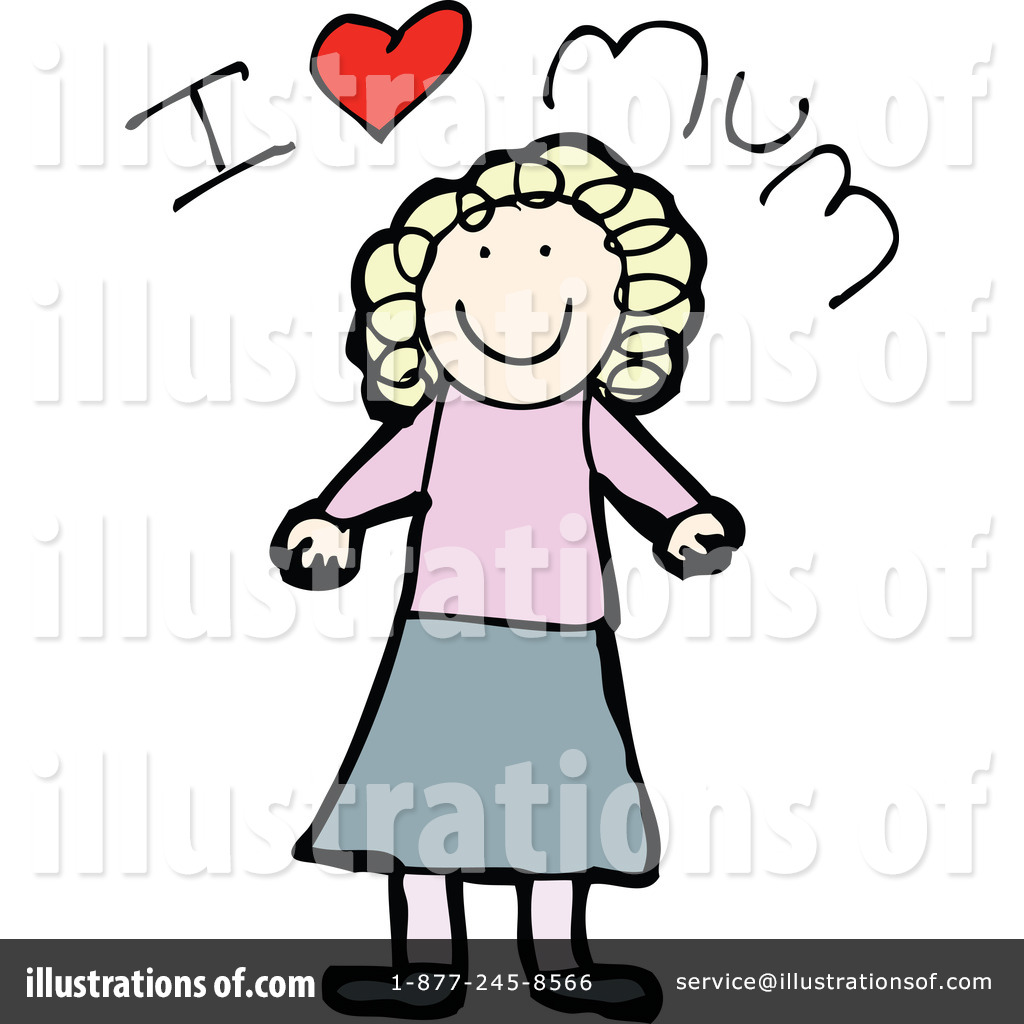 Royalty Free  Rf  Mother S Day Clipart Illustration By Lineartestpilot